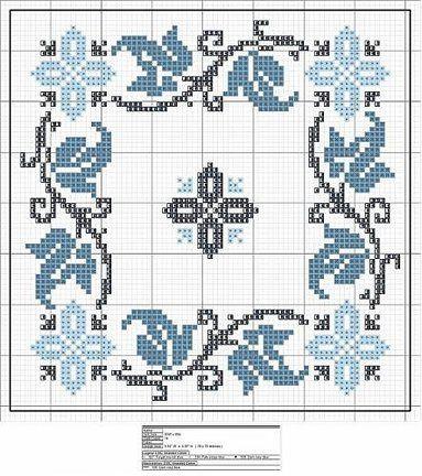 Делюсь схемами: БИСКОРНЮ (игольница) №35122