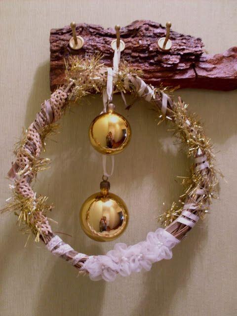 Tus Manos y las Mias: CORONA DE NAVIDAD Christmas wreath