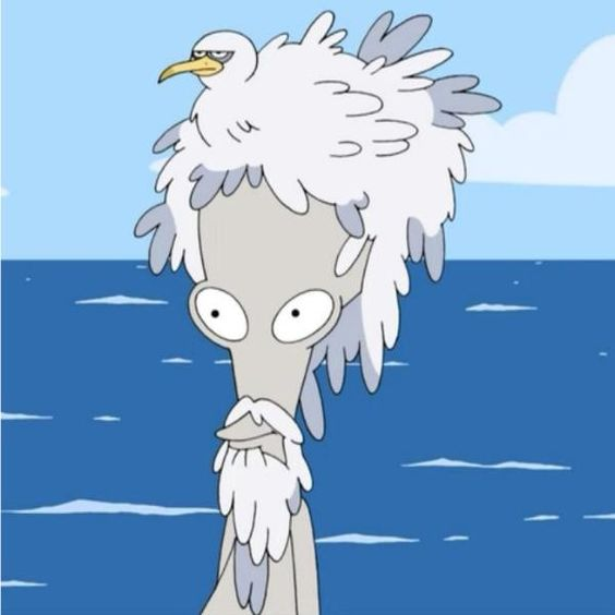 American Dad - Season 4 Episode 11 Choosy Wives Choose Smith - Roger In Seagull Feather Wig.jpg