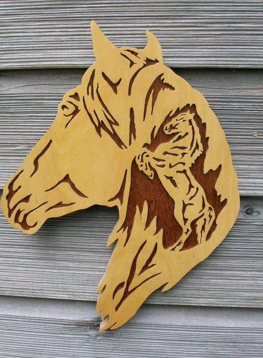Horse Head Laser Engraving Etching Cutting Ideas