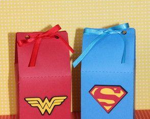 Caixinha Milk - Super Heróis