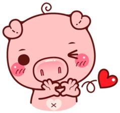 """Pigma vol.3 : I am called """"Pigma"""" , a cute cuddly pig. I will bring more excitement and fun to your chatting experience."""
