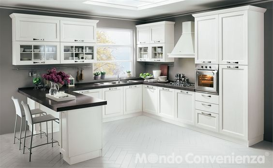 Great Katy Cucine Composizioni bloccate Mondo Convenienza i buy this diary us Pinterest Galley kitchens Kitchens and Interiors