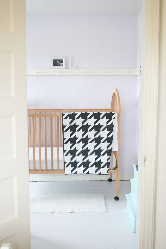 V and Co.: houndstooth quilt pattern