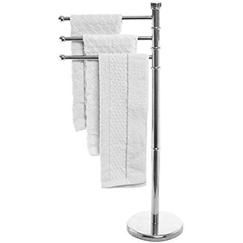 Swivel Arm Towel Holder Rack
