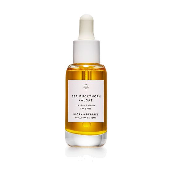 BJÖRK & BERRIES | Sea Buckthorn + Algae Instant Glow Face Oil
