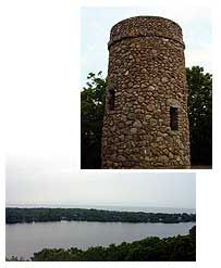 Scargo Tower in East Dennis.  Small Cape Cod Weddings only.