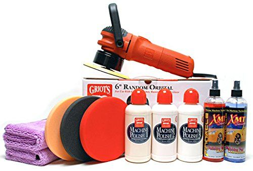 Griots Garage Ultimate Pad & Polish Kit - http://www.productsforautomotive.com/griots-garage-ultimate-pad-polish-kit/