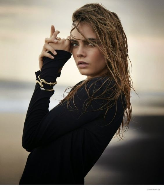 Cara Delevingne Hits the Beach for John Hardy Fall 2014 Ads