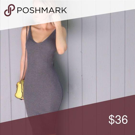 Tanya▫️1 Item Charcoal Midi Dress (L) NWT Other