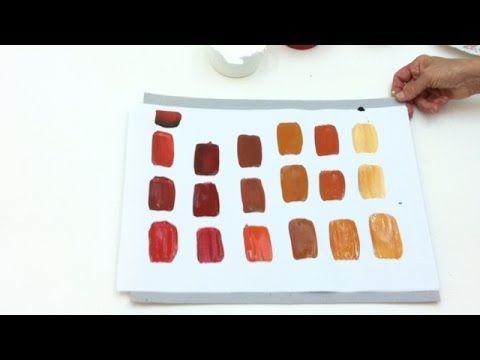 Pintar é fácil - Pintura em Tela - Abstratos - Iniciantes - AULA 7
