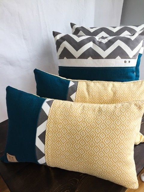 These Are So Cool From Joann Fabric Retro Pillows Yellow Cushion Covers Yellow Throw Pillows