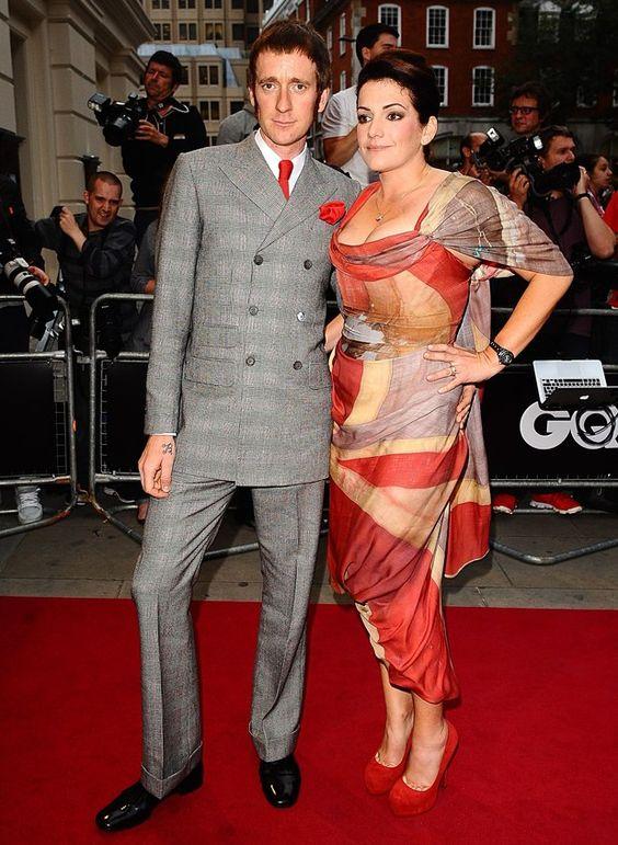 Bradley Wiggins Wife In Vivienne Westwood | Red Carpet Collection | GarmentQuarter