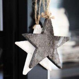 Christmas | Xmas | Jul | Noël. DIY: Natural Decoration. Stars