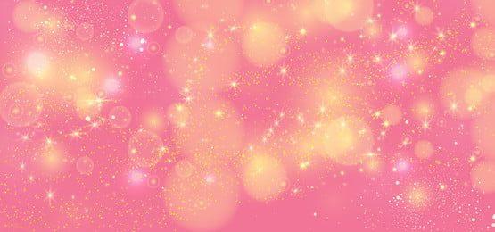 بريق ذهبي لامع في خلفية ناقلات اللون الوردي Frame Floral Aquarela Floral Cor De Rosa