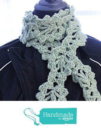 Crochet Lacy Leaf Scarf, Hand Crocheted Leaf Belt, Handmade Crochet ...