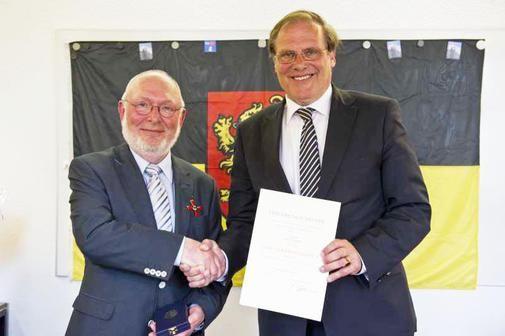 Dransfelder Kommunalpolitiker Rolf Tobien mit Bundesverdienstkreuz ausgezeichnet