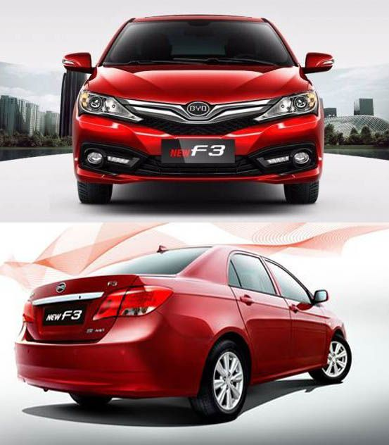 Byd F3 Car Vehicles