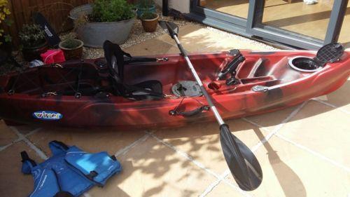 Sit On Top Sea Fishing Kayak accserories included in Sporting Goods, Canoeing & Kayaking, Kayaks   eBay