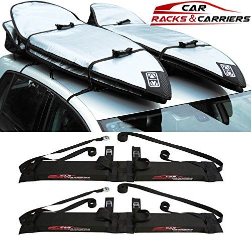 Car Rack Carriers Double Surfboard Car Rooftop Rack 2 Surfboard Soft Wrap Roof Racks Rax Any Car Suv Minivan Van Sed Mini Van Surfboard Car Rack Car Racks