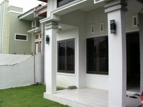 Model Tiang Teras Rumah Batu Alam Minimalis Mewah Terbaru Rumah Minimalis Minimalis Rumah