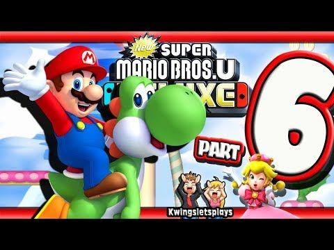 New Super Mario Bros U Deluxe Part 6 Meringue Clouds Peach S