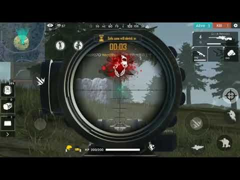 Headshot With Awm In Free Fire Kill In Rush Hour Mode In 2020 Headshots Game Wallpaper Iphone Fire Image