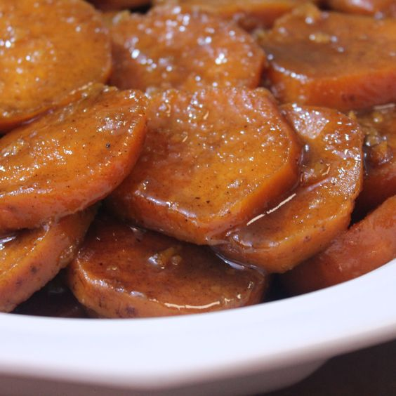 Baked Candied Yams - Soul Food Style