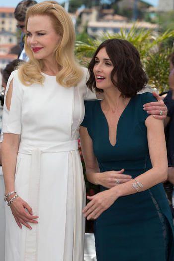 Nicole Kidman and Paz Vega Cannes 2014