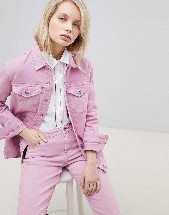 Only - Übergroße Jeansjacke - Rosa Jetzt bestellen unter: https://mode.ladendirekt.de/damen/bekleidung/jacken/jeansjacken/?uid=0717b345-49a7-5672-b480-f7931abc02dc&utm_source=pinterest&utm_medium=pin&utm_campaign=boards #mäntel #damen #female #jeansjacken #bekleidung #jacken Bild Quelle: asos.de