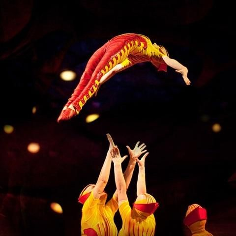Ovo Acto Acrosport Personajes Moscas Cirque Du Soleil Cirque Touring