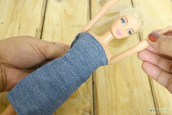 easy simple dress patterns for barbie doll kids - Google Search