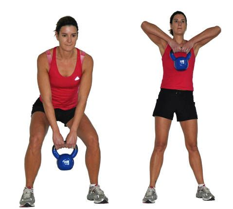 Kettlebell Two Arm Pull