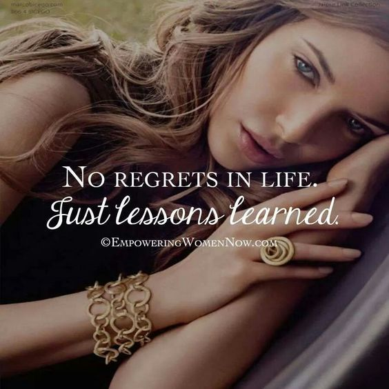 No regrets....£