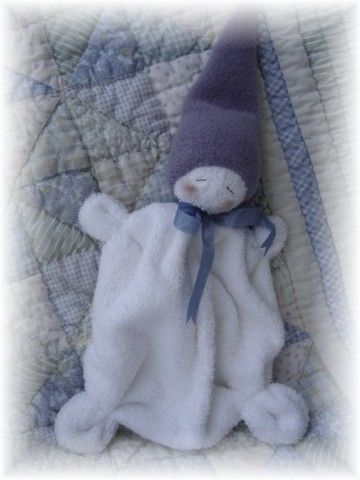 Waldorf Inspired Washcloth Gnome Baby
