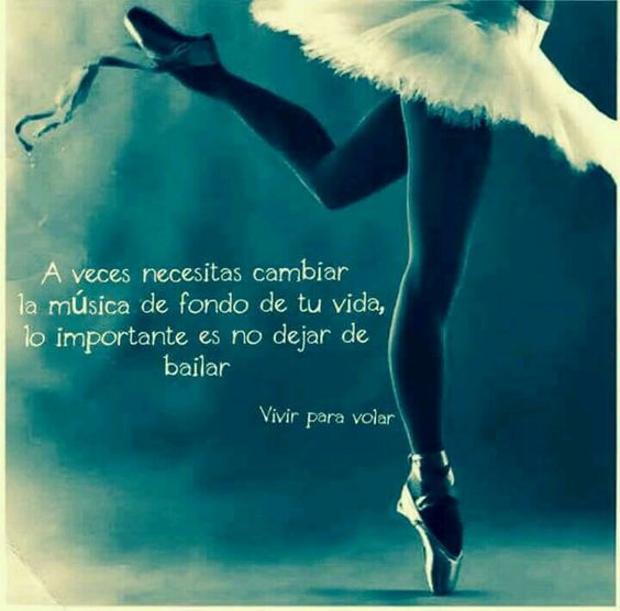 Nunca dejes de bailar