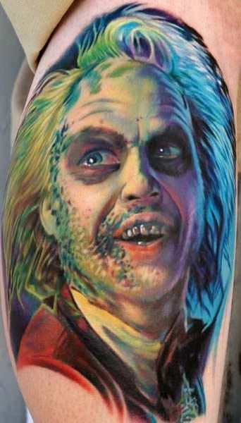 horror movies tattoo designs designs of horror tattoo for women men with horror tattoo scary. Black Bedroom Furniture Sets. Home Design Ideas