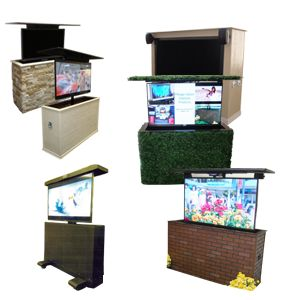 miragevision outdoor tv lifts cabinets landscaping. Black Bedroom Furniture Sets. Home Design Ideas