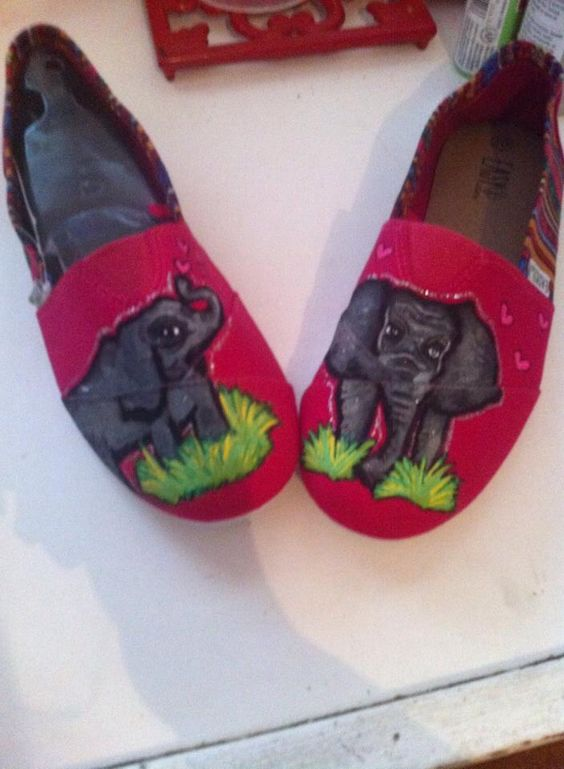 Elephant shoes