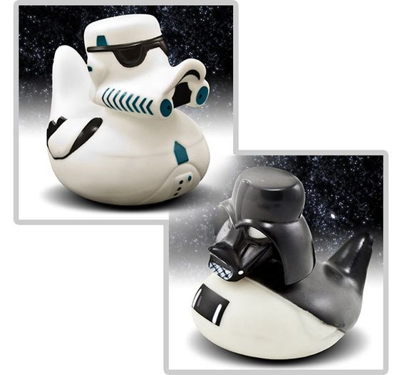 Star Wars Rubber Ducks! May the Bath be With You