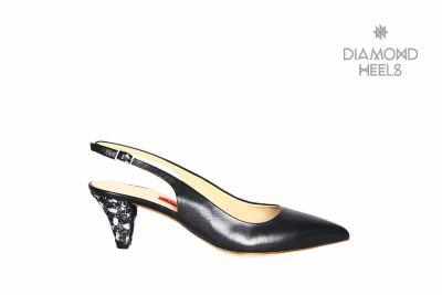Pointy Stiletto mit einem Absatz der besonderen Art | Design von Luzia