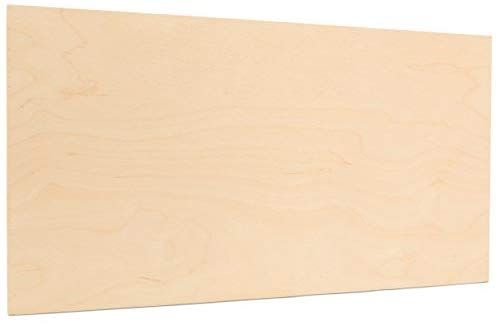 Amazon Com 6mm 1 4 X 12 X 24 Premium Baltic Birch Plywood B Bb Grade 6 Flat Sheets By Woodpeckers Arts Cr With Images Baltic Birch Plywood Shed Plans Cheap Flooring