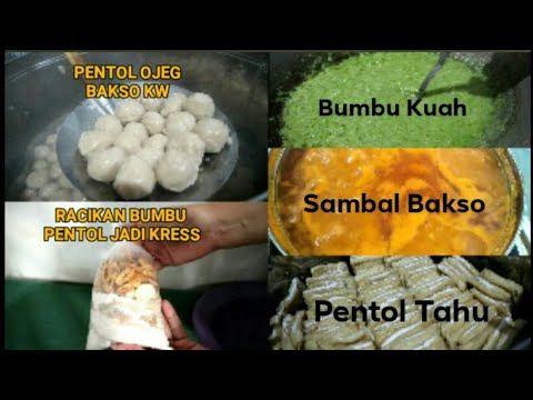 Resep Bakso Rp 5 000 Porsi Lengkap Pentol Tahu Bumbu Kuah Dan Sambal Bakso Peluang Usaha Youtube Diy Food Recipes Diy Food Food