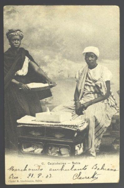 Antigo Cartão Postal Tipográfico: C. Caixinheiras - Bahia. Circulado. MBC