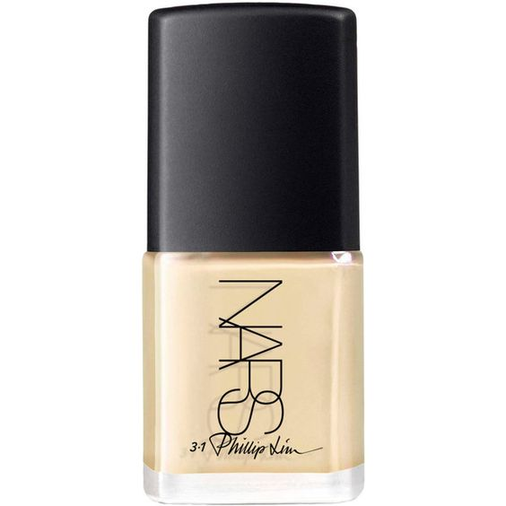 Nars 3.1 Phillip Lim Nail Polish in Anarchy Alabaster ($23) ❤ liked on Polyvore featuring beauty products, nail care, nail polish, beauty, nails and nars cosmetics