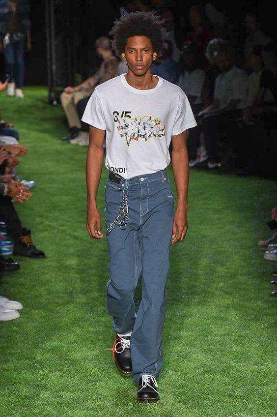 Off-White Spring 2019 Menswear Paris Collection - Vogue
