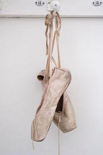Vintage & Morrhår ballet shoes