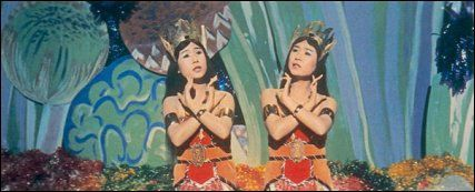 My sister and I would sing the Mothra song, or our version of it.