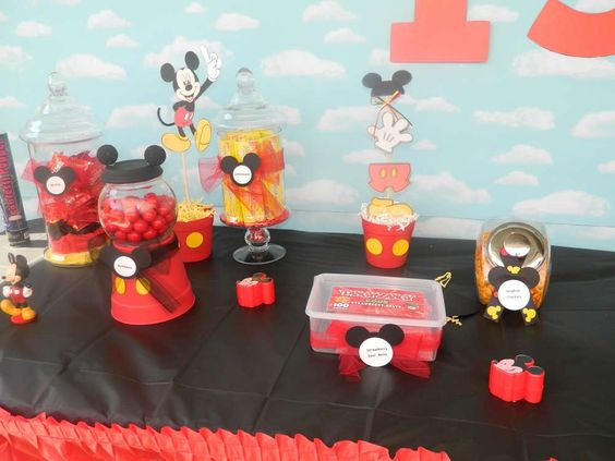 Mickey Mouse Birthday Party Ideas | Photo 10 of 34 | Catch My Party