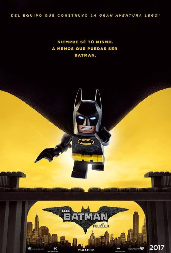 New international poster for The lego batman movie